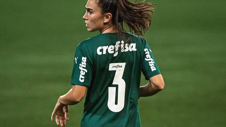 Agus é um dos pilares do setor defensivo do Palmeiras
