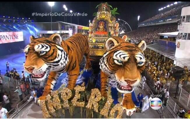 A Império da Casa Verde é a grande campeã do carnaval paulista