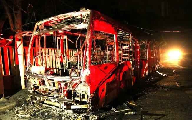 Parque do Engenho é incendiado na Rua Alfredo Lorenz, no Capão Redondo, Zona Sul de São Paulo