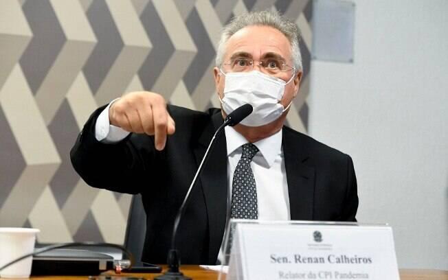 Senador Renan Calheiros (MDB-AL), relator da CPI da Covid