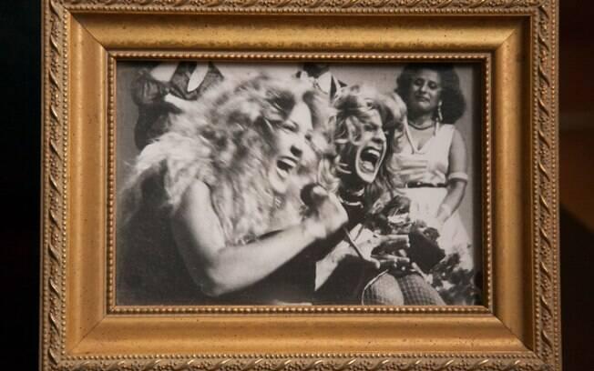 No porta-retrato, a noite em que Wanderlea supreendeu Renato e subiu no palco junto com ele