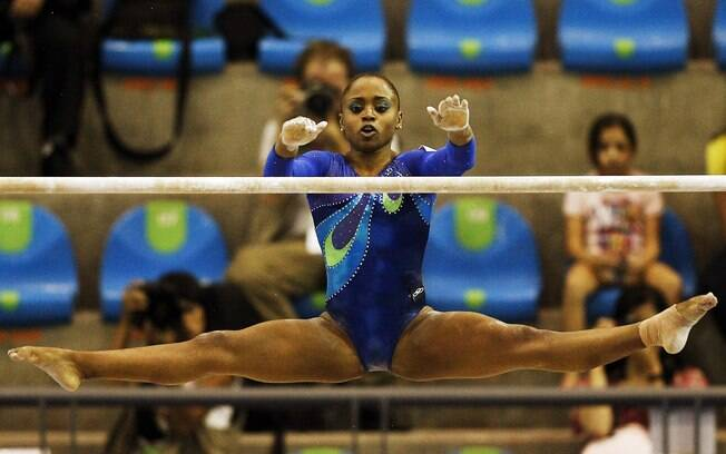 Daiane dos Santos foi a primeira brasileira a conquistar medalha de ouro
