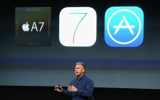 Apple aproveitou evento para falar do novo processador do iPhone 5S, o A7