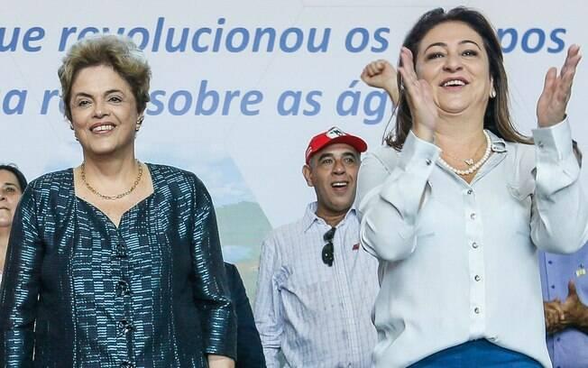 Kátia Abreu era ministra da Agricultura no governo da presidente afastada Dilma Rousseff