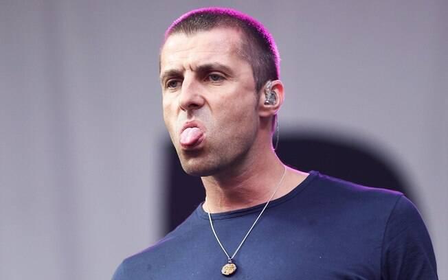 Liam Gallagher, ex-vocalista do Oasis, teria plagiado o escudo do Hajduk Split