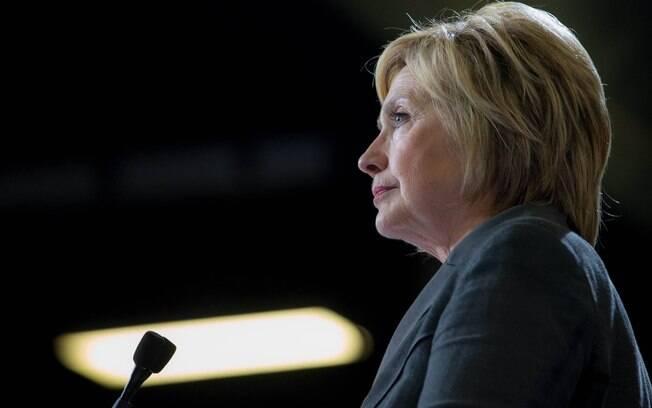 A ex-candidata democrata à presidência dos Estados Unidos nas eleições de 2016, Hillary Clinton