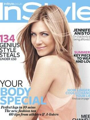 Jennifer Aniston na capa da revista