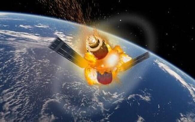 Estação espacial Tiangong-1  poderá cair em diferentes países; especialistas dizem que é provável que pouse no mar