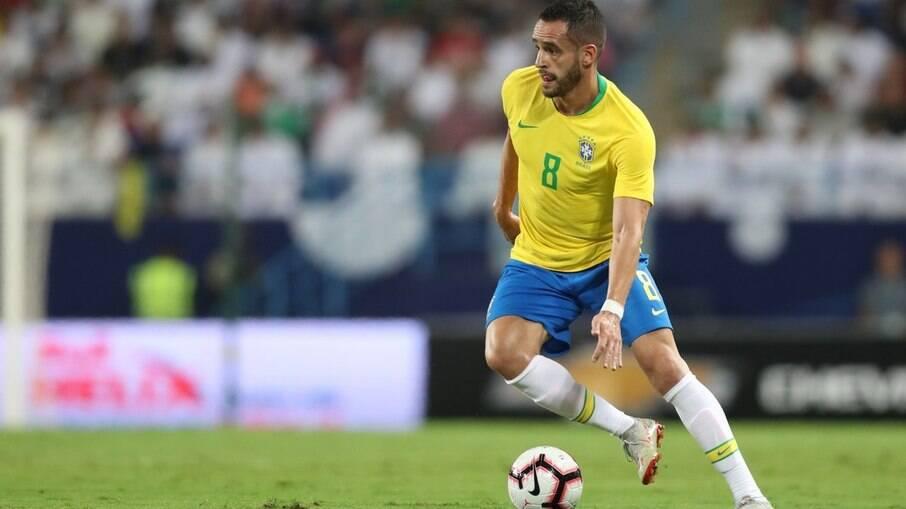 Renato Augusto defendeu a seleção brasileira na última Copa do Mundo