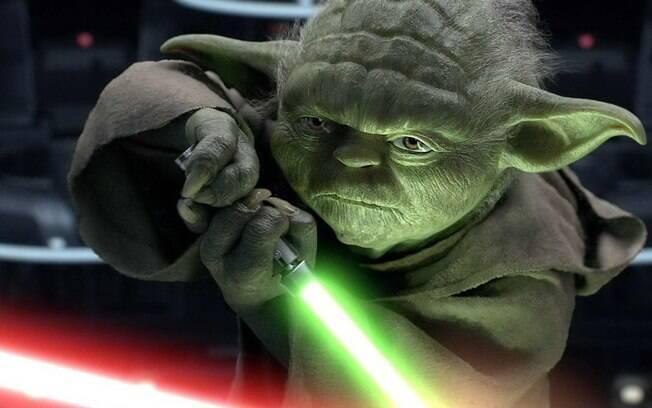 O Mestre Yoda é um dos personagens seguidos pelos Jedaístas