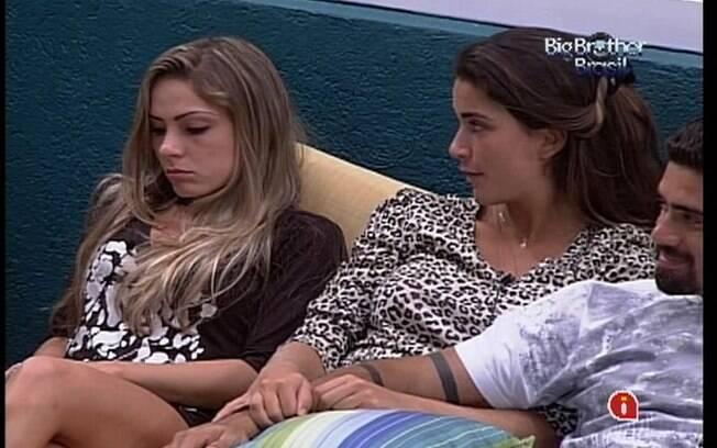 Renata fala da frustração de ser indicada por João Maurício