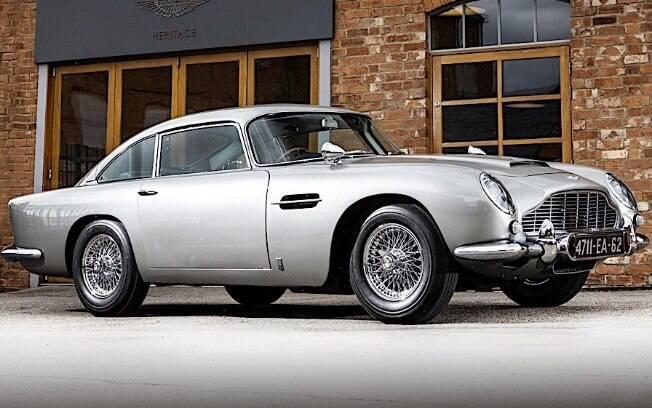 Aston Martin DB6 da década 1960 tem motor elétrico produzido atualmente pela  montadora