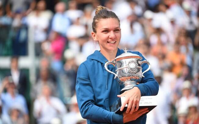 Simona Halep foi a campeã do simples feminino de Roland Garros em 2018