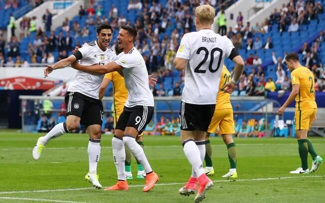 Alemanha e Austrália estrearam na Copa das Confederações. E os alemães venceram