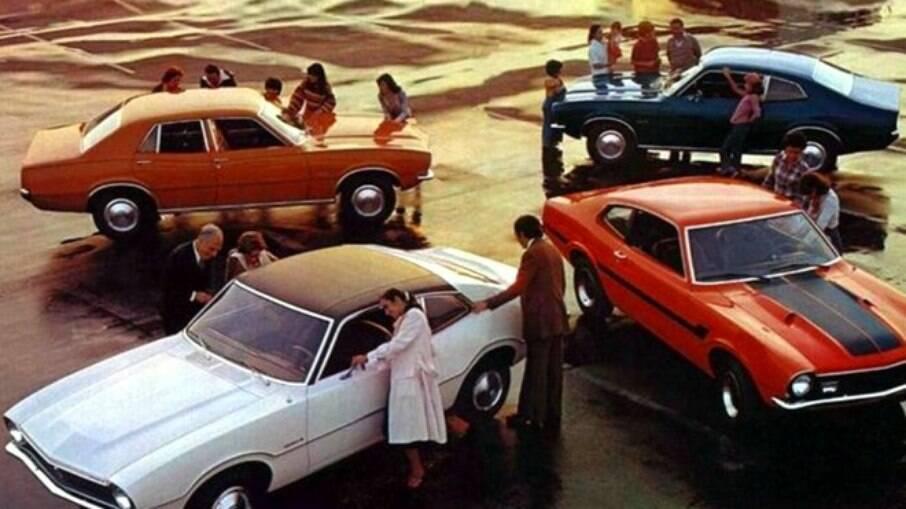 Em quase sete anos de produção, o Maverick acumulou exatas 108.106 unidades.