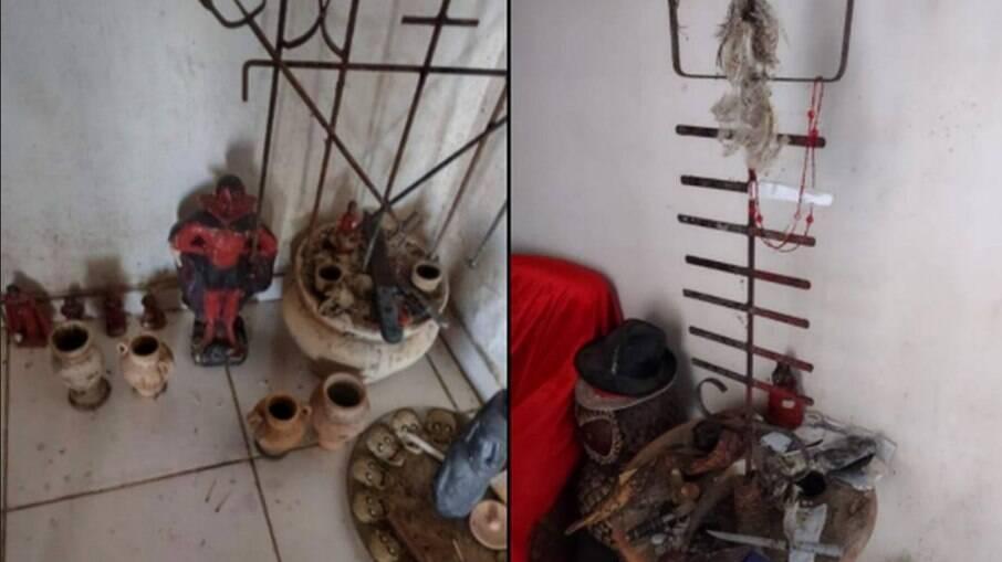 Relação entre objetos encontrados na casa de autor de chacina em Goiás movimenta a internet