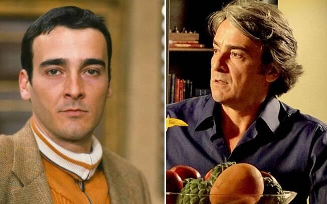 Alexandre Borges estreava na Globo em 95, como o vilão Bruno. Hoje vive o Cadinho de