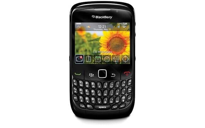 O BlackBerry Curve 8520 era a sensação dos empresários e profissionais de sucesso da época