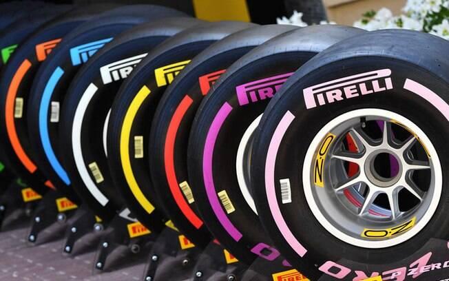 Pirelli é a fornecedora oficial de pneus para a Fórmula 1