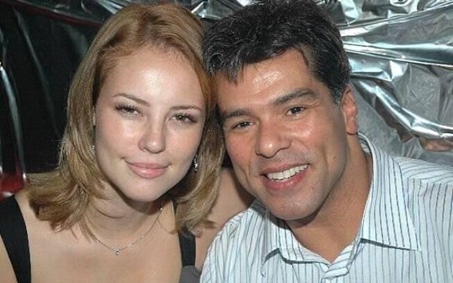 Paolla Oliveira e Maurício Mattar na época em que namoraram