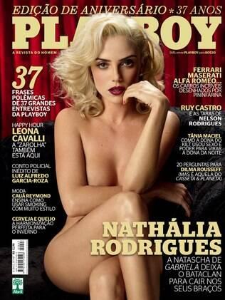 "Confira a capa de Nathália Rodrigues para a ""Playboy"""