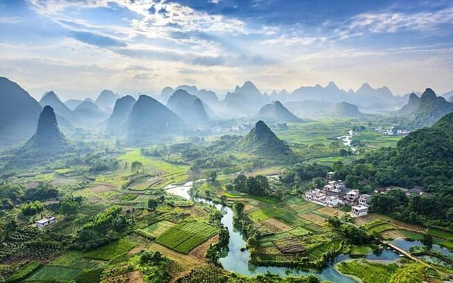 O Rio Li foi destaque também para a National Geographic