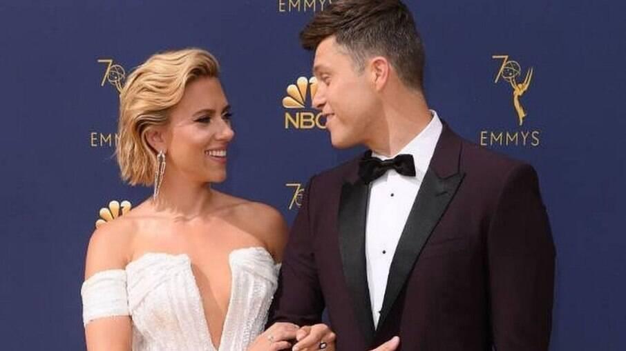 Nasce o primeiro filho de Scarlett Johansson e Colin Jost
