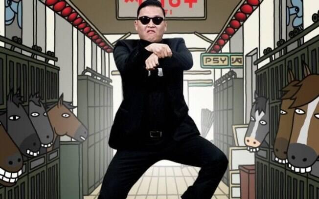 Psy dança 'Gangnam Style'