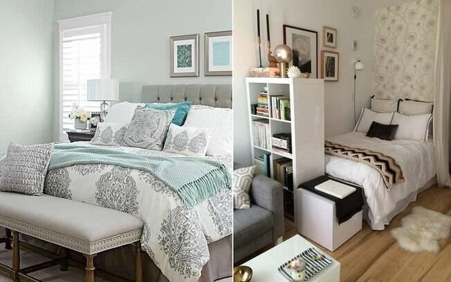 Segundo o arquiteto, o melhor para um quarto de hóspedes é pintá-lo com tons claros e neutros