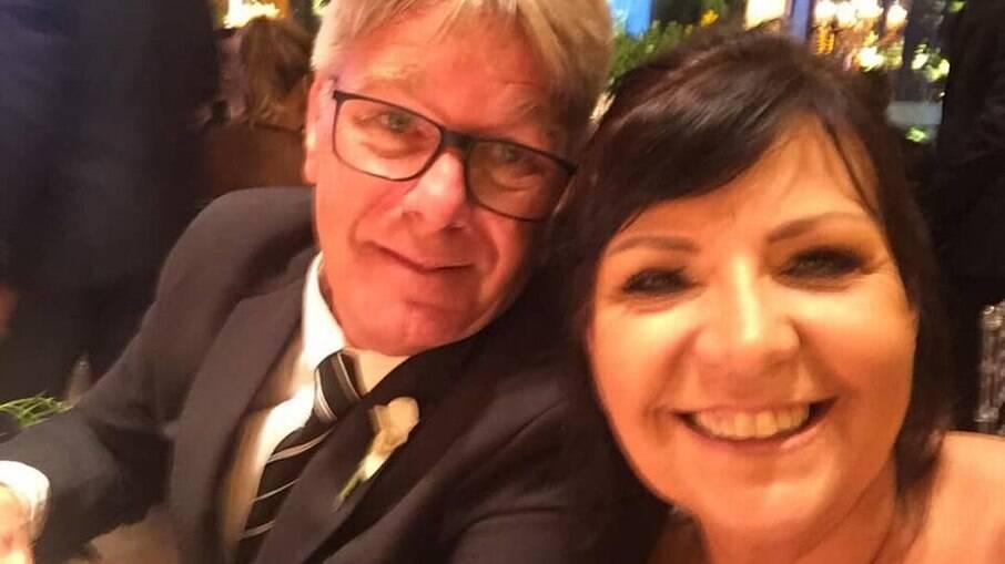 Sônia Oliveira e seu marido