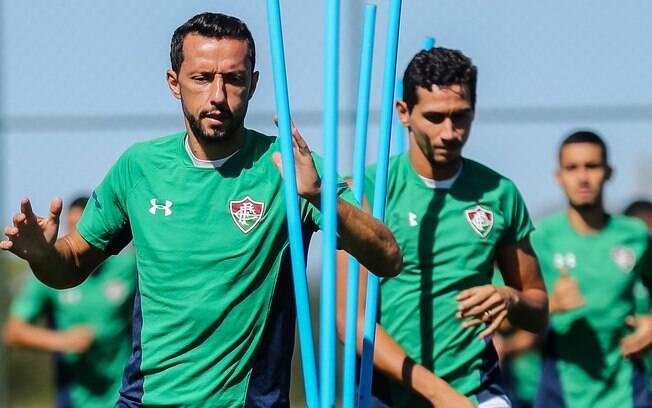 Ganso e Nenê no Fluminense