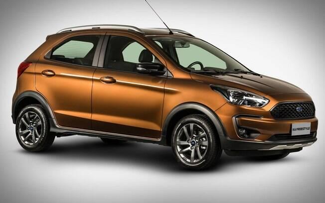 Ford Ka FreeStyle: visual aventureiro e promessa de um carro robusto, mas por enquanto, ainda não há detalhes técnicos