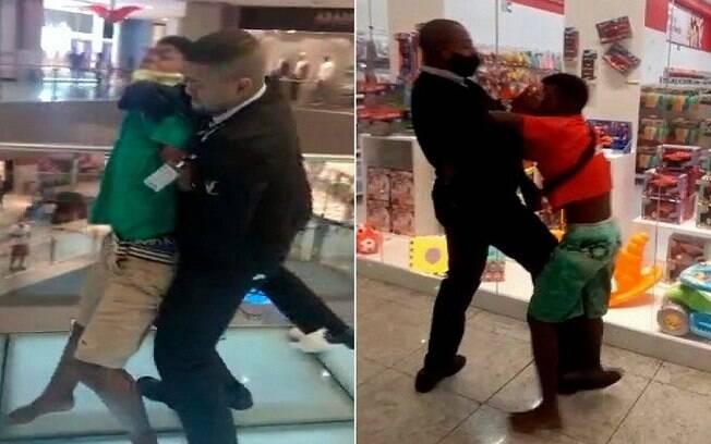 O caso aconteceu no Salvador Shopping, na capital baiana, nesta segunda (28)