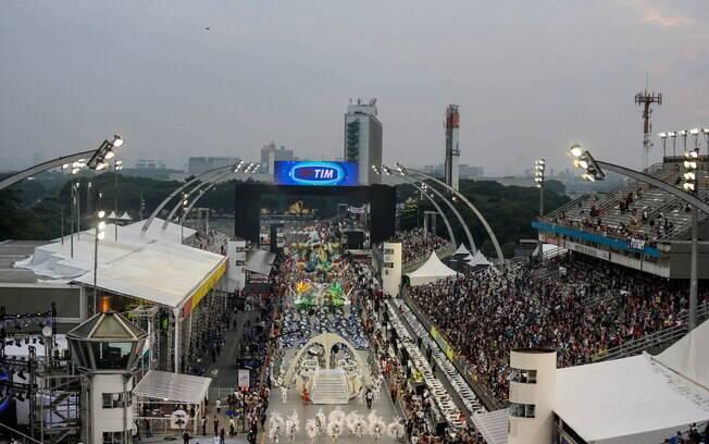 Carnaval do Rio é homenageado em São Paulo. Foto: Rafael Neddermeyer/LIGASP/Fotos Públicas