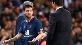 Messi e técnico tentam colocar panos quentes em discussão