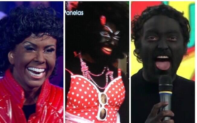 Televisão nacional faz blackface há muito tempo