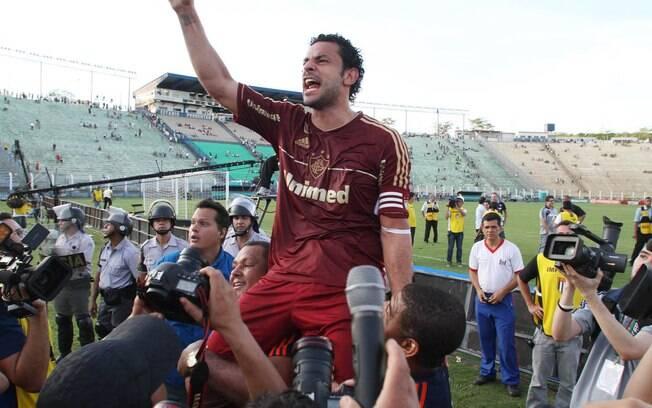 Fred, artilheiro do Fluminense em 2012, é o  oitavo: R$ 19,6 milhões
