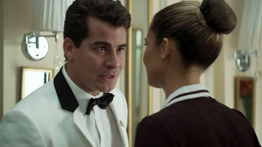 Júlio briga com Sandra Helena