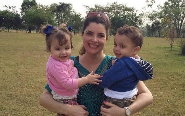 Antes de engravidar, Fabiana passou quatro vezes pela fertilização in vitro, uma inseminação artificial e dois abortos