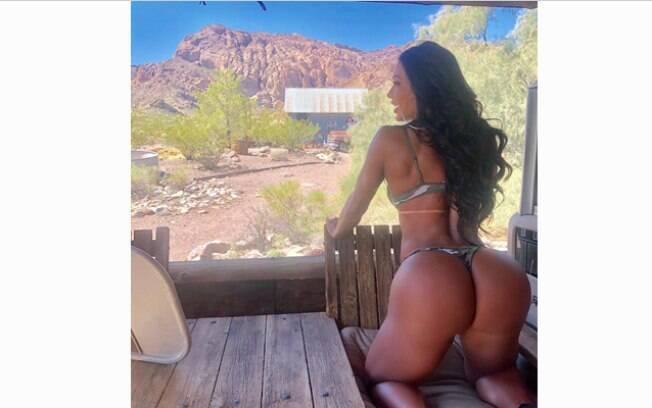 Gracyanne Barbosa exibe super bumbum em nova publicação no Instagram e agrada seguidores