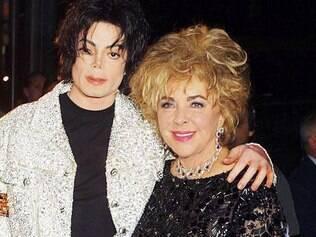Michael Jackson e Elizabeth Taylor