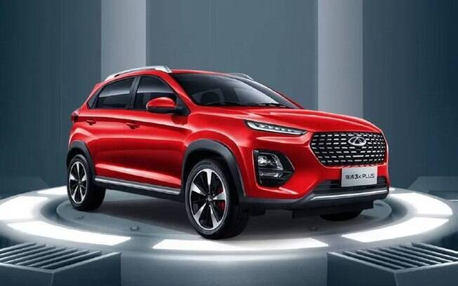 Chery Tiggo 2 reestilizado revela semelhanças até com os SUVs da Hyundai. Uma vez no Brasil, deverá chegar em 2021