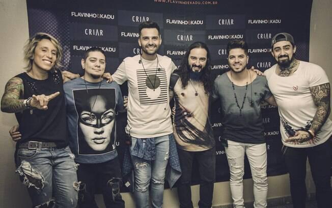 Banda malta e Flavinho e Kadu já tinham tocado juntos no Villa Country, em São Paulo, em outubro de 2017