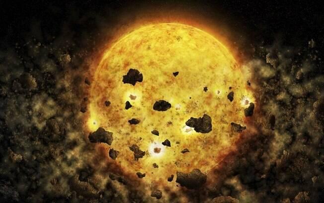 Telescópio da Nasa pode ter flagrado estrela jovem 'devorando' planeta no espaço; astrônomos estudam ocorrido