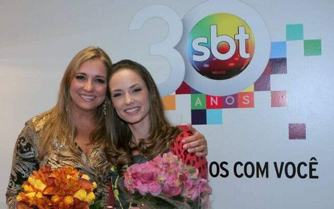 Gabriela Rivero e Rosane Mulholland, as Professoras Helenas de ontem e hoje