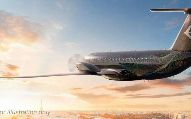 Embraer apresenta conceito do seu novo avião turboélice