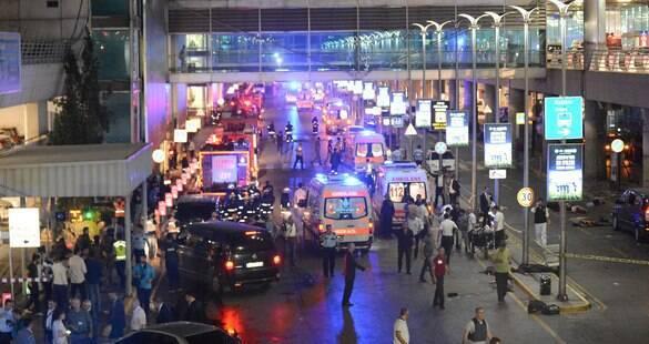 Número de mortos em ataque no aeroporto da Turquia sobe para 41