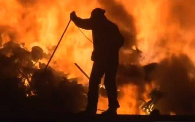Incêndio Curitiba