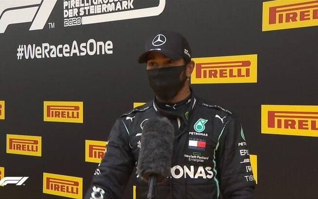 Hamilton largará na pole position no GP de Estíria