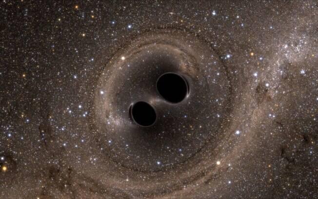 Cientistas detectam maior fusão de buracos negros, através da observação de ondas gravitacionais